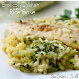 Broccoli Chicken and Rice Bake