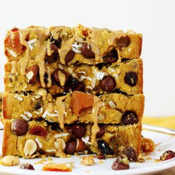 Healthy Trail Mix Quick Bread
