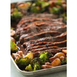 Sheet Pan Flank Steak and Vegetables
