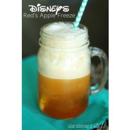 Copycat Disney's Cars Land Red's Apple Freeze Drink