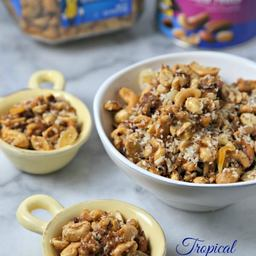 Tropical Spiced Mixed Nuts For #PlantersHoliday