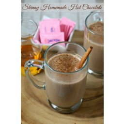 Curl Up With A Skinny Homemade Hot Chocolate #DontHesitate