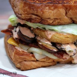 The Grilled Cheese Bacon Burger