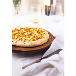 Savory Pumpkin Galette With Flaky Parmesan Crust