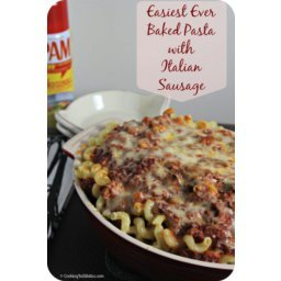 Baked Pasta With Italian Sausage