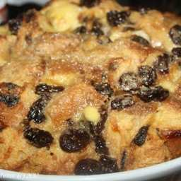Panettone Bread Pudding With A Dash Of Cherries and Rum
