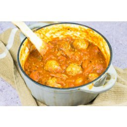 Healthy Homemade Meatballs in Tomato Sauce
