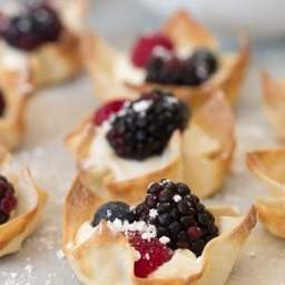 Easy Lemon Berry Tarts