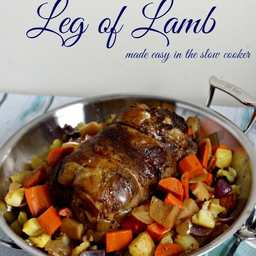 Slow Cooked Leg of Lamb Made Easy In The Slow Cooker