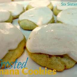 Frosted Banana Cookies