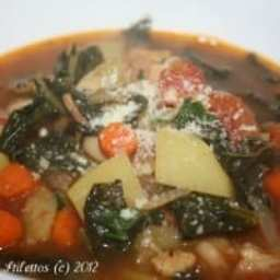 Cozy Up With A Bowl of Winter Minestrone