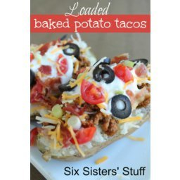 Loaded Baked Potato Tacos Recipe