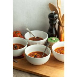 Provencal Tomato Vegetable Soup (Paleo, Vegan)