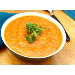 Creamy Tomato and Navy Bean Soup