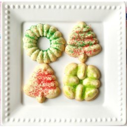 My Holiday Spritz Cookies