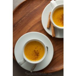 Spiced Sweet Potato Turmeric Milk