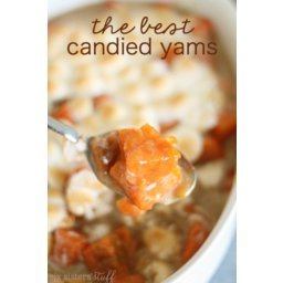 The BEST Candied Yams Recipe (without corn syrup!)