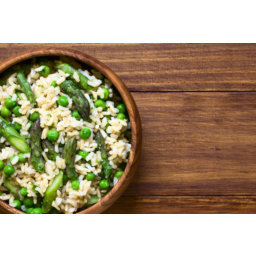 Nutty Green Rice