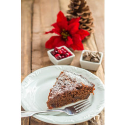 Chocolate and Cranberry Spice Cake