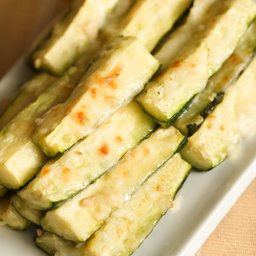 Cheesy Zucchini Sticks