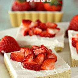 Strawberry Shortcake Bars Recipes