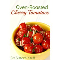 Oven-Roasted Parmesan and Garlic Cherry Tomatoes Recipe