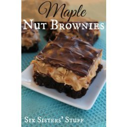 Maple Nut Brownies Recipe