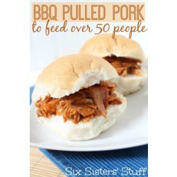 BBQ Pulled Pork to Feed Over 50 People