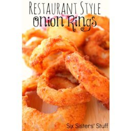 Restaurant Style Onion Rings Recipe
