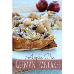 Apple Pie German Pancakes with Lucky Leaf Pie Filling