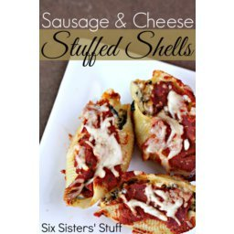 Sausage and Cheese Stuffed Shells Recipe