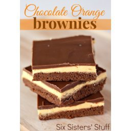 Chocolate Orange Brownies Recipe