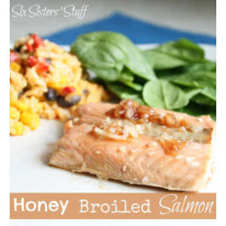 Healthy Meals Monday: Honey Broiled Salmon