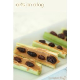How To Make Ants on a Log Recipe