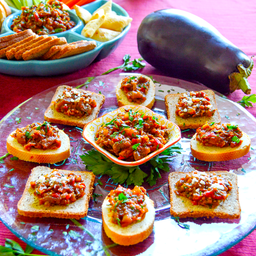 Roasted Red Pepper & Eggplant Spread