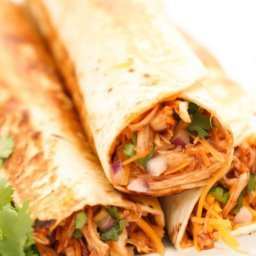 BBQ Chicken Burritos Recipe