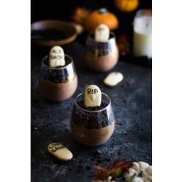 Grown Up Graveyard Chocolate Mousse