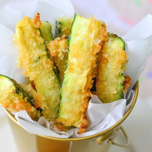 Quick and Easy Zucchini Fries Recipe