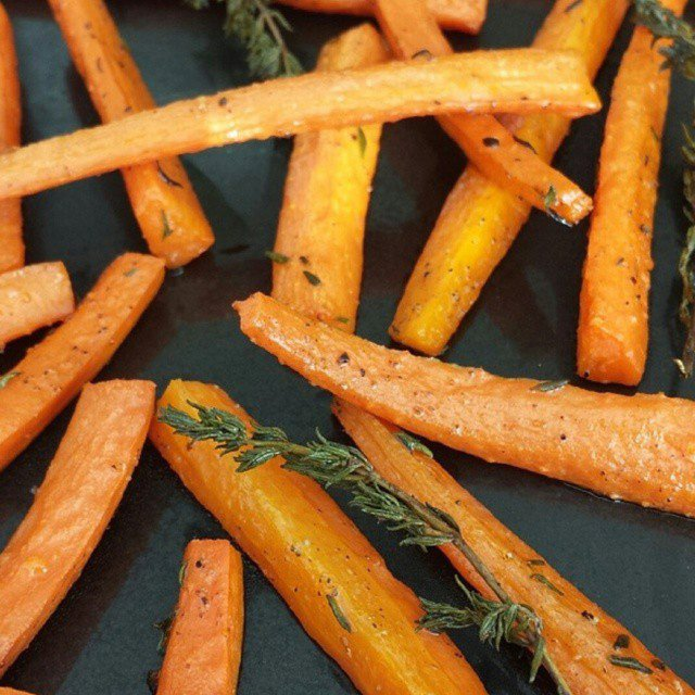 Rosemary Roasted Carrots
