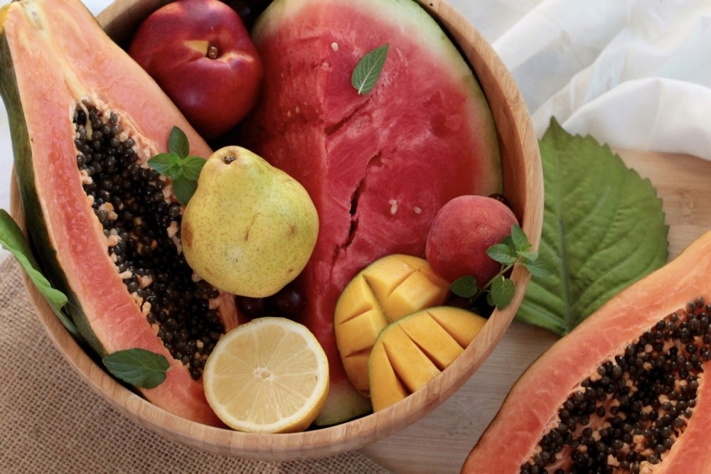 My Go-To Favourite Fruits This Summer And A Delicious Sweet And Savoury Mango, Papaya Salad Recipe