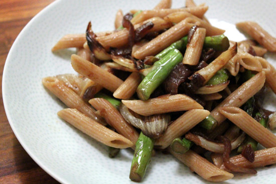 Roasted Fennel + Asparagus Pasta