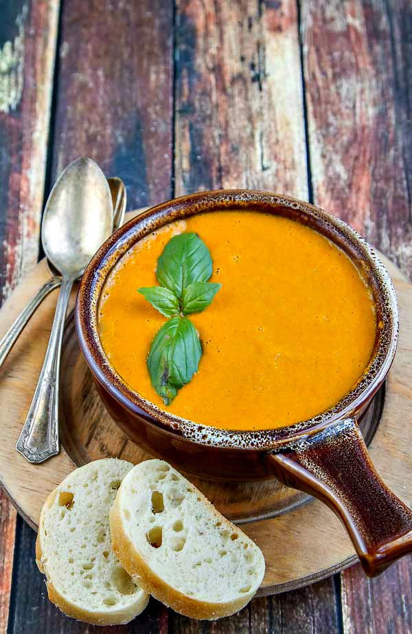 Roasted Summer Tomato Bisque