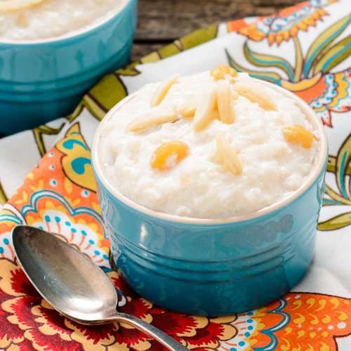Slow-Cooker Kheer (Indian Rice Pudding)