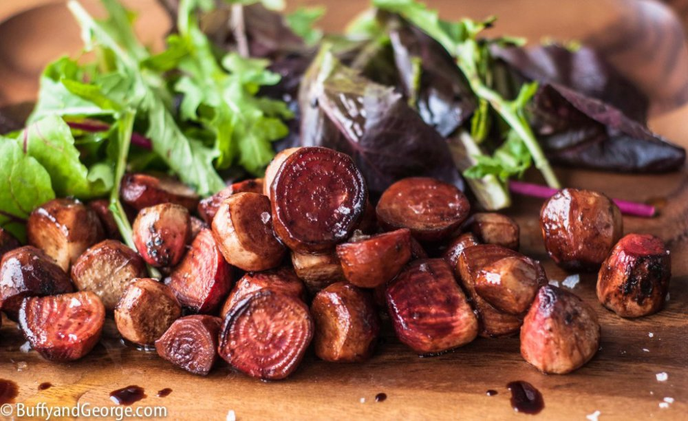 Balsamic Beets on the BBQ