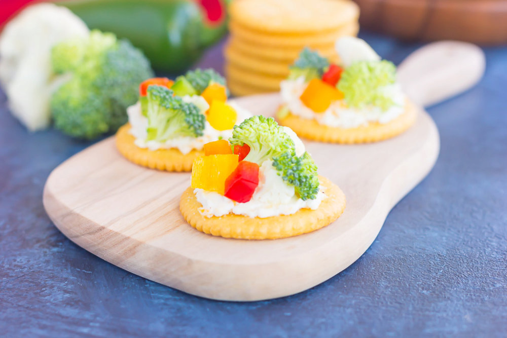 Sweet and Savory Snack Crackers
