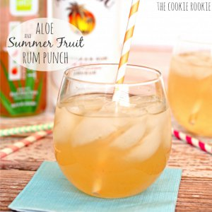 Aloe and Summer Fruit Rum Punch