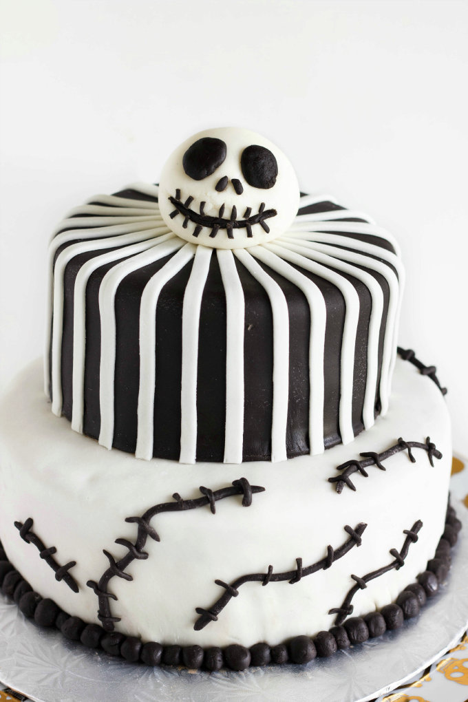 nightmare before christmas cake jack skellington cake