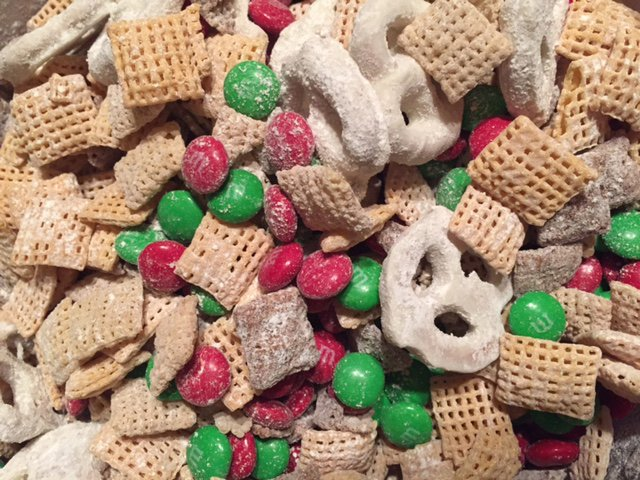Chex Mix Christmas.Christmas Chex Mix