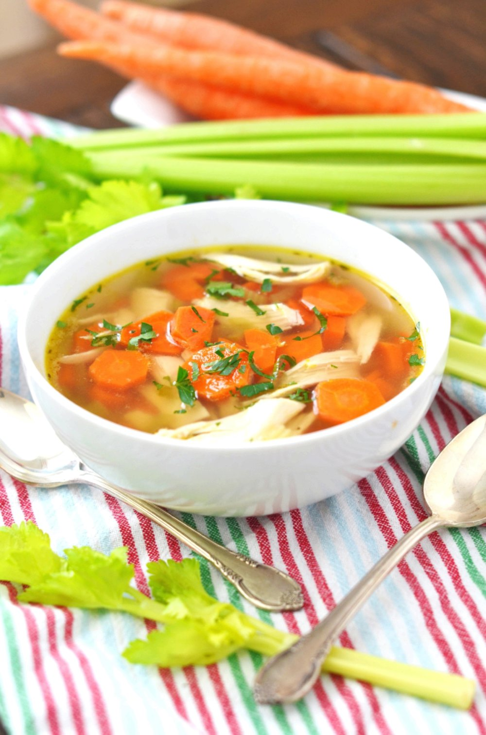 Awesome Chicken Gluten Free Soup - How To Make