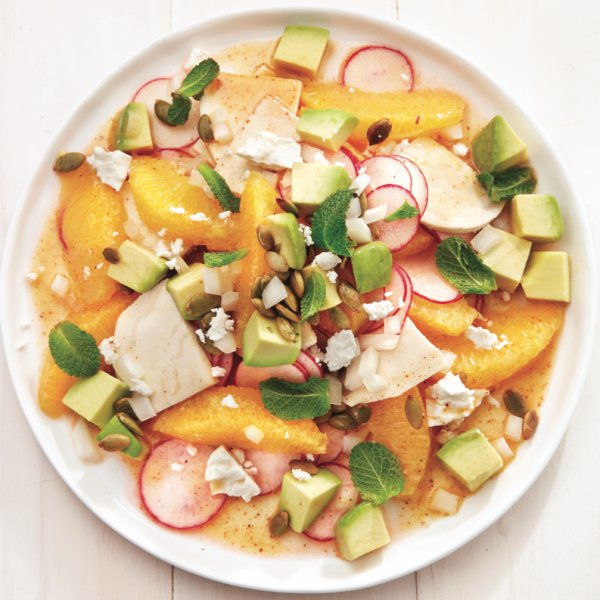 Mexican jicama and avocado salad Chatelaine Basics: How to segment an orange